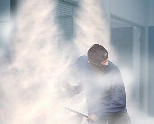 Generación de niebla ante intrusiones